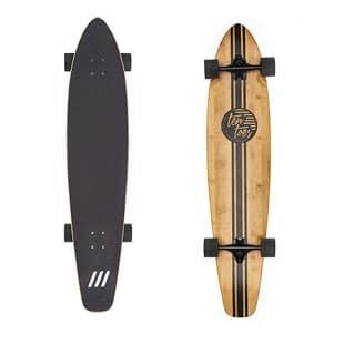 Ten Toes Board Emporium Zed Bamboo Skateboard Cruiser