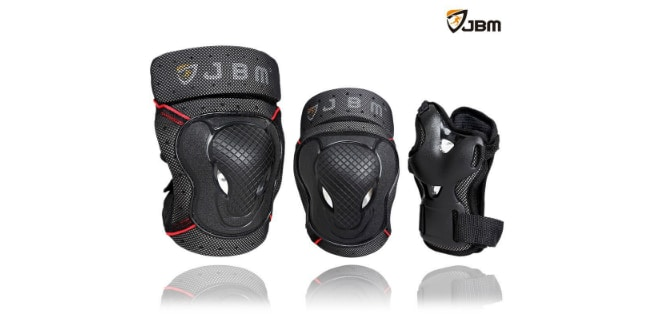 JBM BMX Bike Knee Pads and Elbow Pads