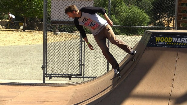 Pumping Up and Down the Vert Ramp