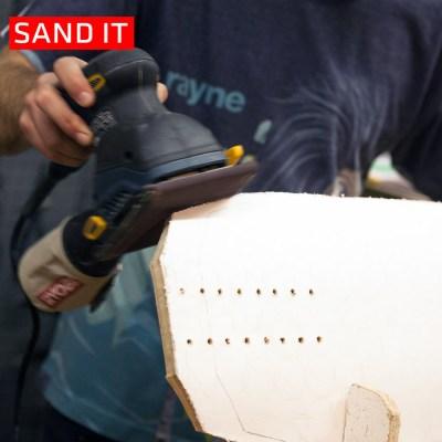 Rayne Longboards Chop Shop Sand It
