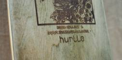 Hurtle Skateboards Stained Maple Signature