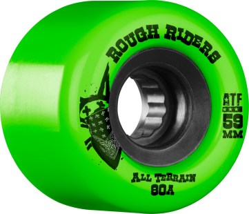 Bones Rough Riders 59MM Green