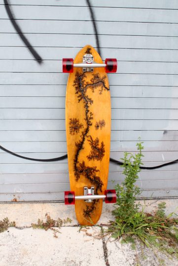 "Holz Longboards 39"" Bamboo Cruiser Belly"