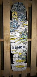 Omen Longboards Buzzkill Malibu Graphic