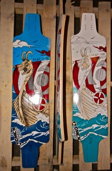 Omen Longboards Dropship TM