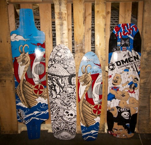 The Scrapyard at Omen Longboards