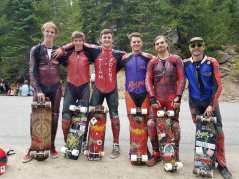 Rayne Team at Devil's Peak (Photo: @_mitch_thompson_)