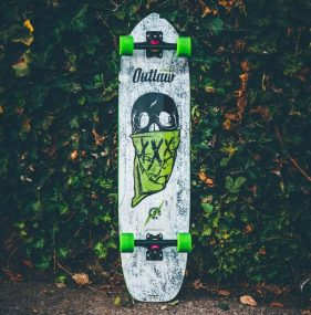 Moonshine MFG Outlaw - Arsenal Trucks - Powell Peralta DH Wheels