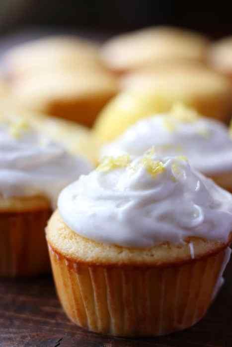 Honey Lemon Cupcakes!