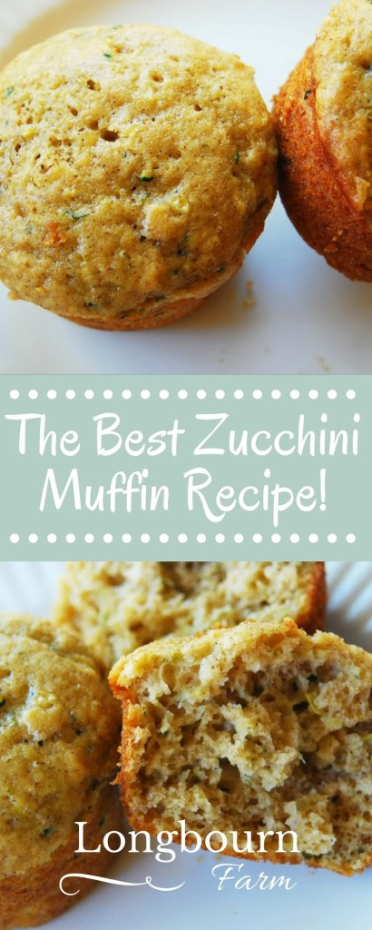 This is the best zucchini muffin recipe! These zucchini muffins are light and airy, not dense and greasy. They turn out every time and are absolutely perfect!