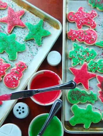 Soft Cut Out Sugar Cookie Recipe