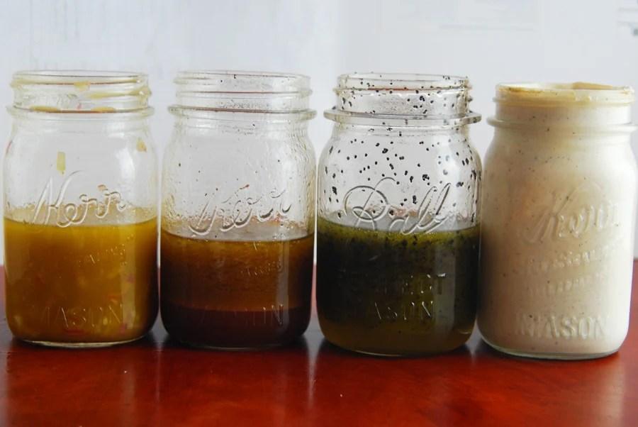 4 Homemade Salad Dressing Recipes!