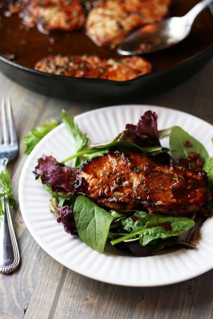 Pan Seared Pork Chops!