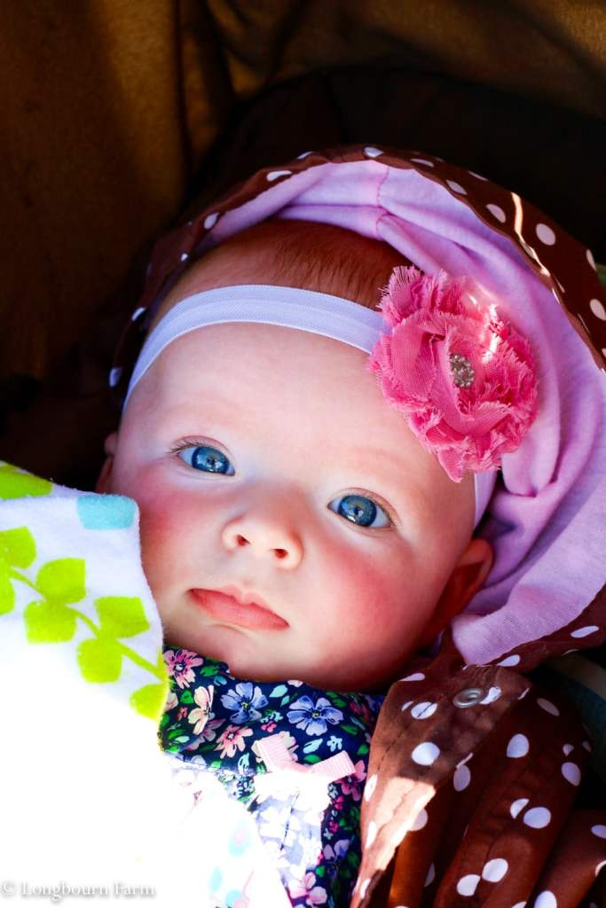 Pretty baby lady.