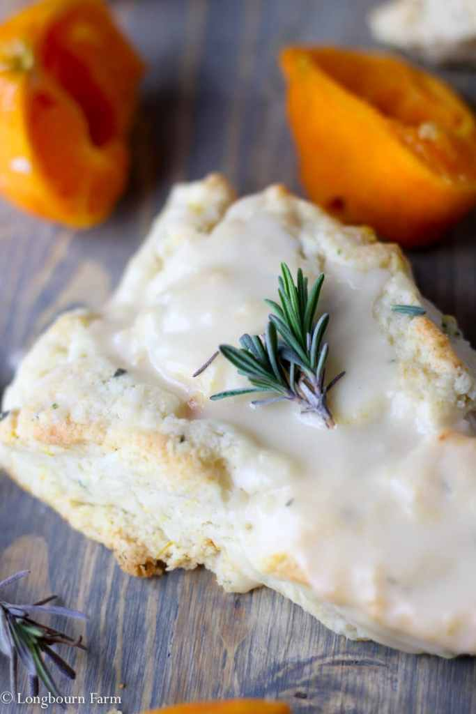 The Best Scone Recipe - Orange and Lavender!