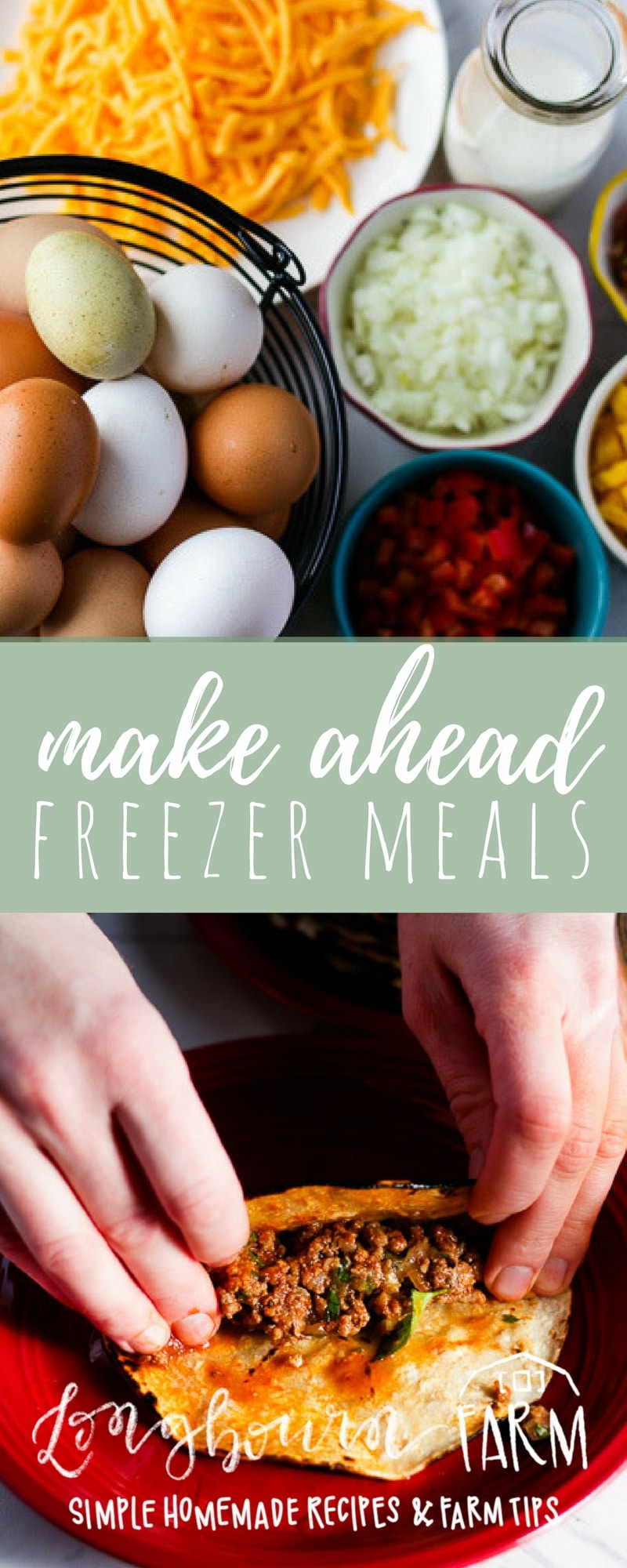 Make ahead freezer meals are a fantastic way to always have a homemade dinner on the table, even on busy days where cooking isn't an option. Get the details on stocking your freezer, great freezer meal ideas, and how to make any meal a freezer meal! #makeaheadmeal #freezermeal #freezermeals #makeahead #easydinner #fastdinner #mealprep #dinnerprep