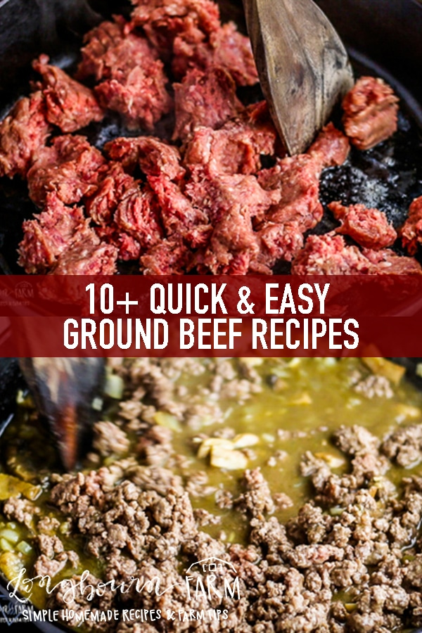 I love easy dinner ideas with ground beef! Check out this list of affordable and quick meals that are perfect for weeknight dinners, or company. Get all the information you need on cooking with ground beef and easy storage tips and tricks and how I always have it ready in the freezer. #groundbeef #beef #groundbeefrecipes #beefrecipes #quickrecipes #easyrecipes #beefrecipe #beeffordinner