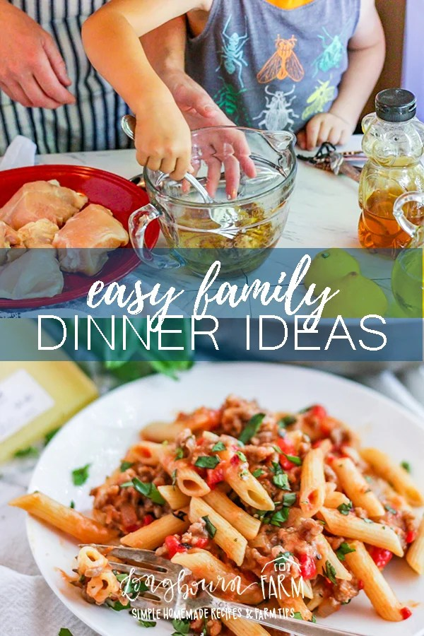 You want to have family dinner every night, better yet with homemade meals. You need more than easy dinner ideas or a meal plan. You need these tips! #longbournfarm #familydinner #familymeal #mealprep #mealpreparation #mealplan #mealplans #mealplanning #planningdinner #familytime #family #homeamdemeals #homemadefood #homemadedinner #homemademeal #homemademeals #mealprepsunday #mealprepmonday