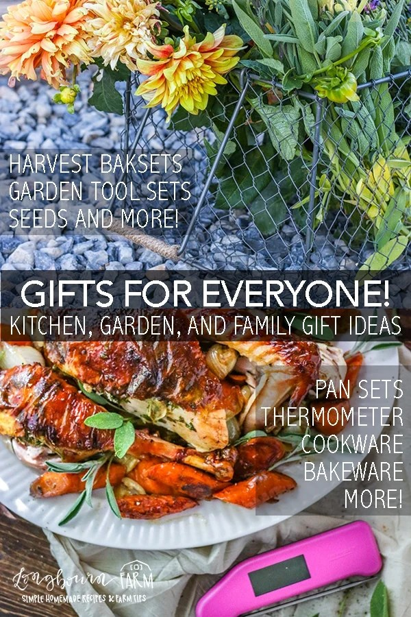 Finding the perfect gift for peoplein your life can be hard! Whether you need a kitchen gift, a family gift or a gardening gift I have the ultimate list. #longbournfarm #giftguide #kitchengifts #gardeninggifts #familygifts