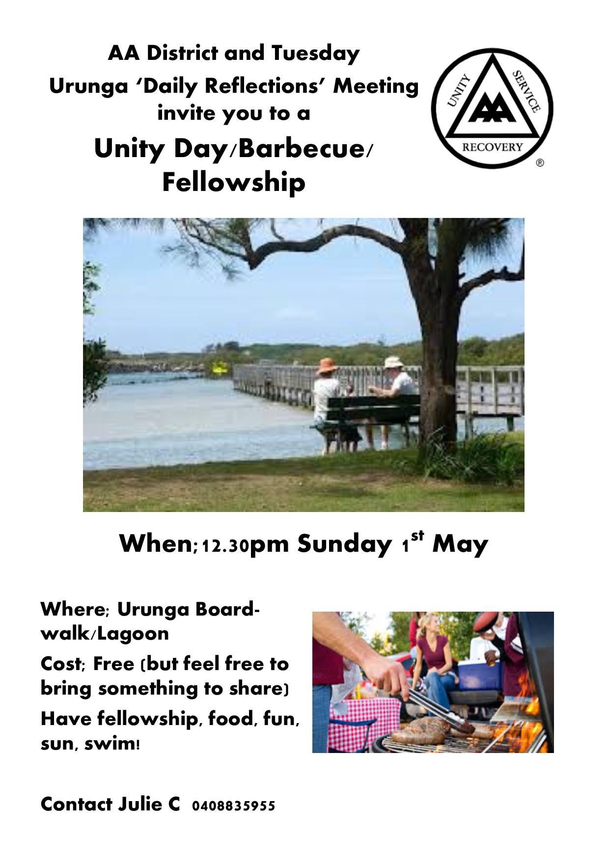 UNITY DAY SUNDAY 1 MAY 2016 URUNGA
