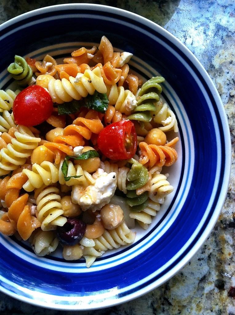 Mediterranean Style Pasta Salad