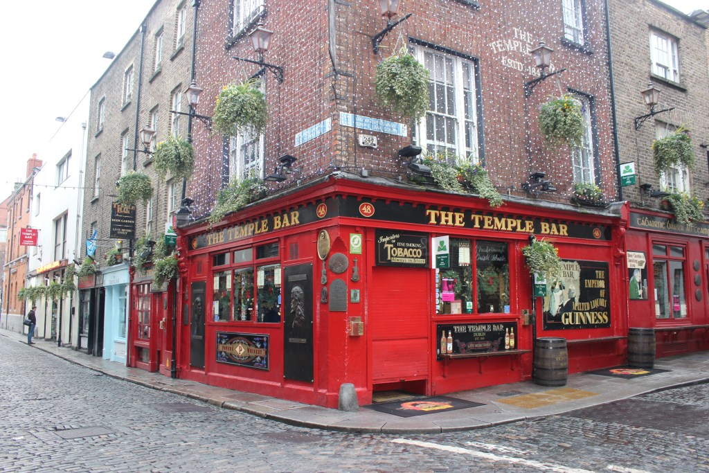 Temple Bar in Dublin.