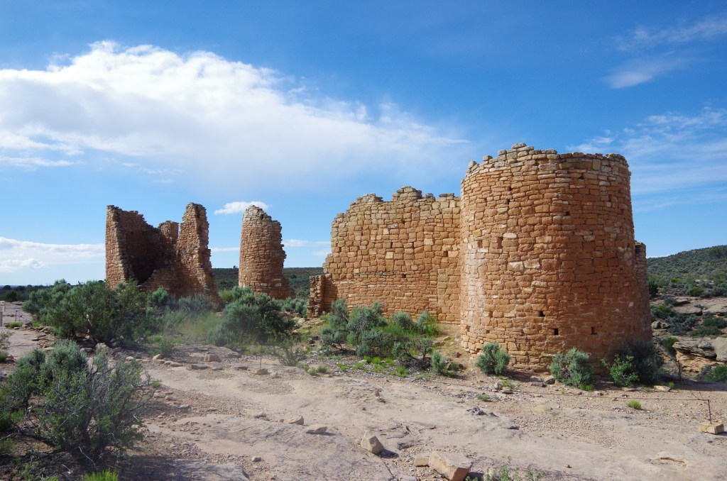 Hovenweep National Monument, on the border of Southern Utah and Colorado | longdistancebaking.com