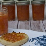 Roasted Peach Freezer Jam