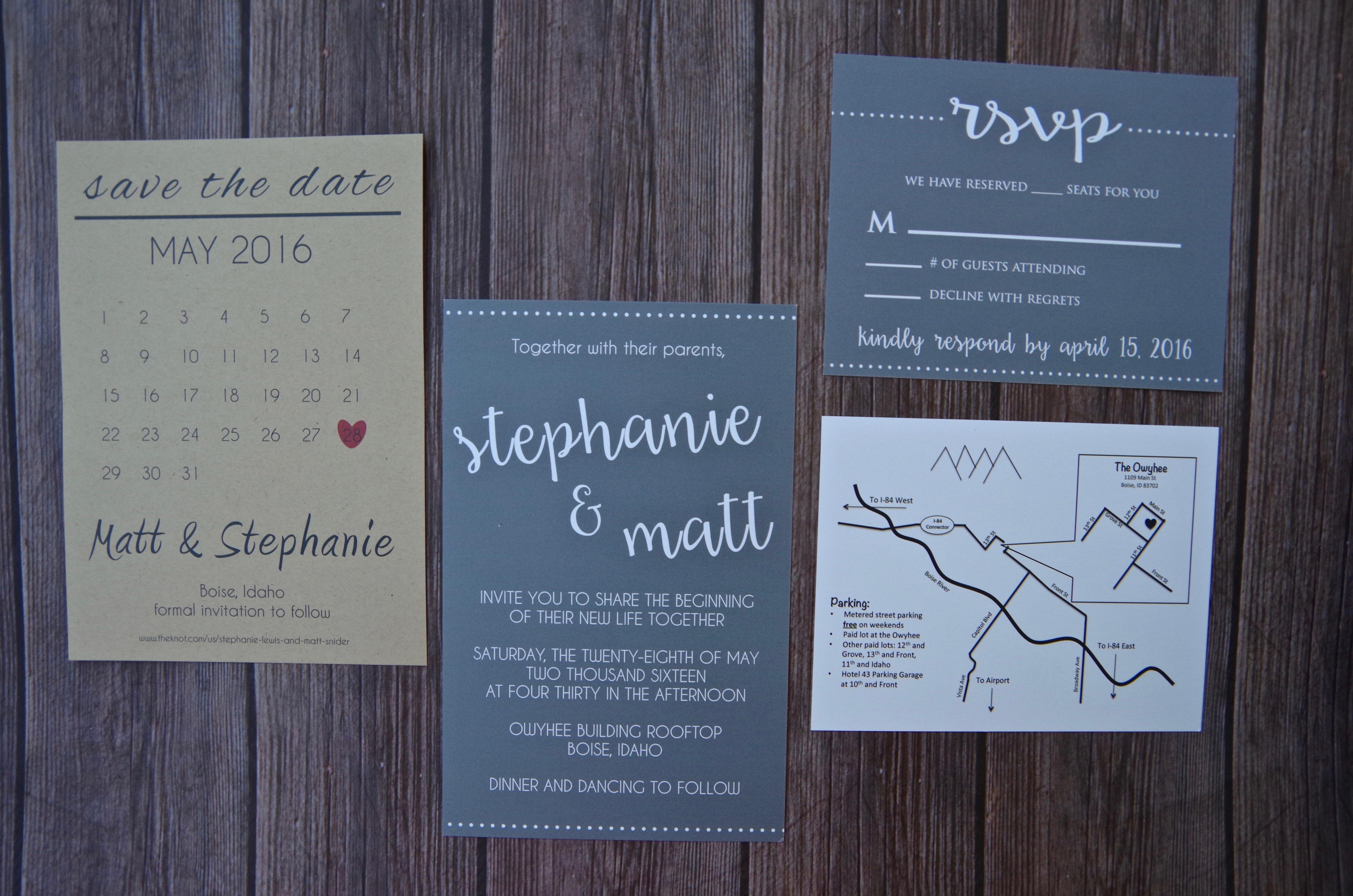 DIY Wedding Map – Long Distance Baking