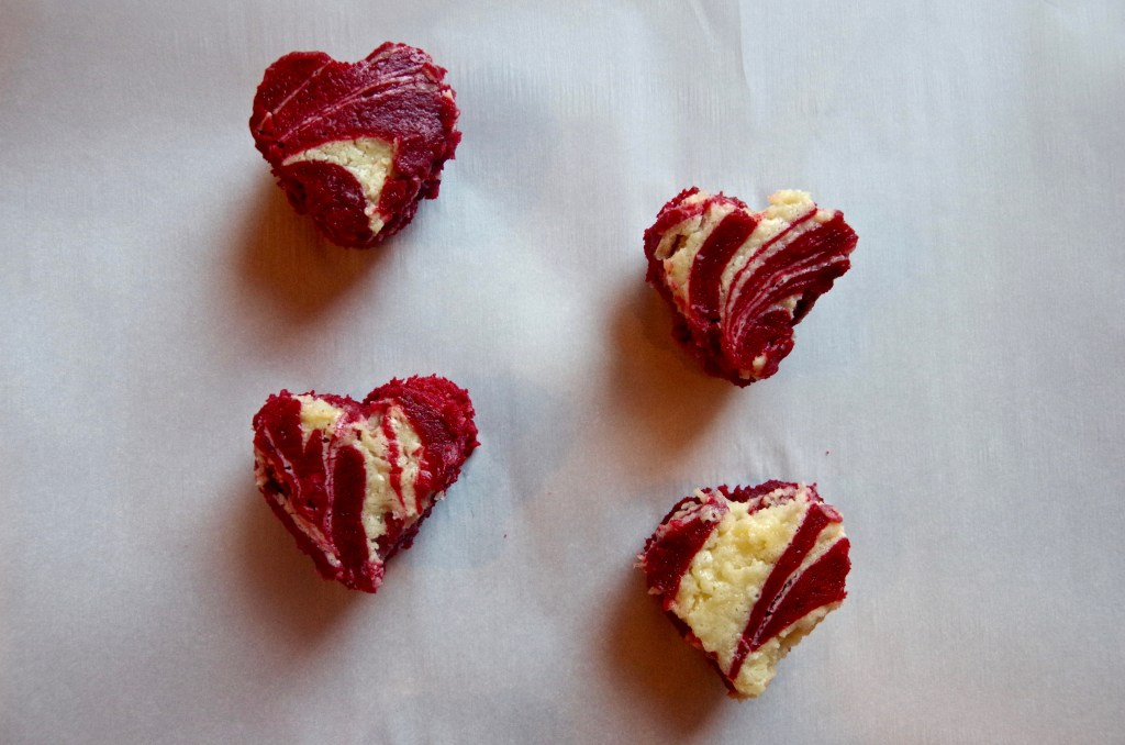 Red Velvet Cream Cheese Brownies - perfect for Valentine's Day! | longdistancebaking.com