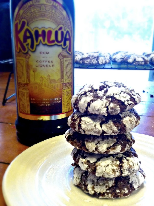 Kahlua Espresso Crinkles   longdistancebaking.com