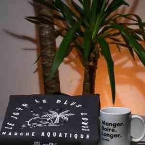 Pack Mug & Sweat «Le jour le plus longe» gris anthracite, Anfibi