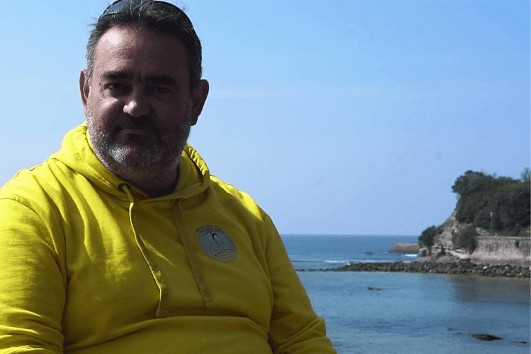 Read more about the article Portrait de longeur : Jérome Roudey, la marche aquatique, une necessité!