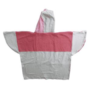 Poncho Anfibi  100% Upcyclé « Pink Style » modèle unique
