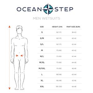 Combinaison de longe-côte double zip 4mm Optimizer Homme Ocean Step