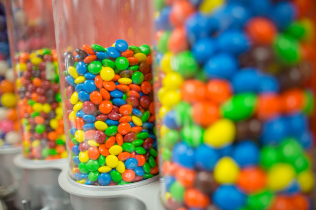 m and m candy