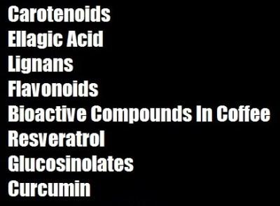 list of-phytonutrients