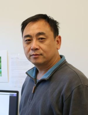 Associate professor Jikui Song.