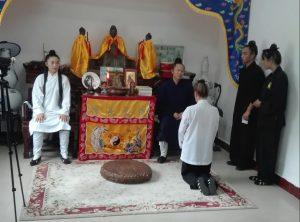 Cerimonia Wudang Gong Dao Mara Leni