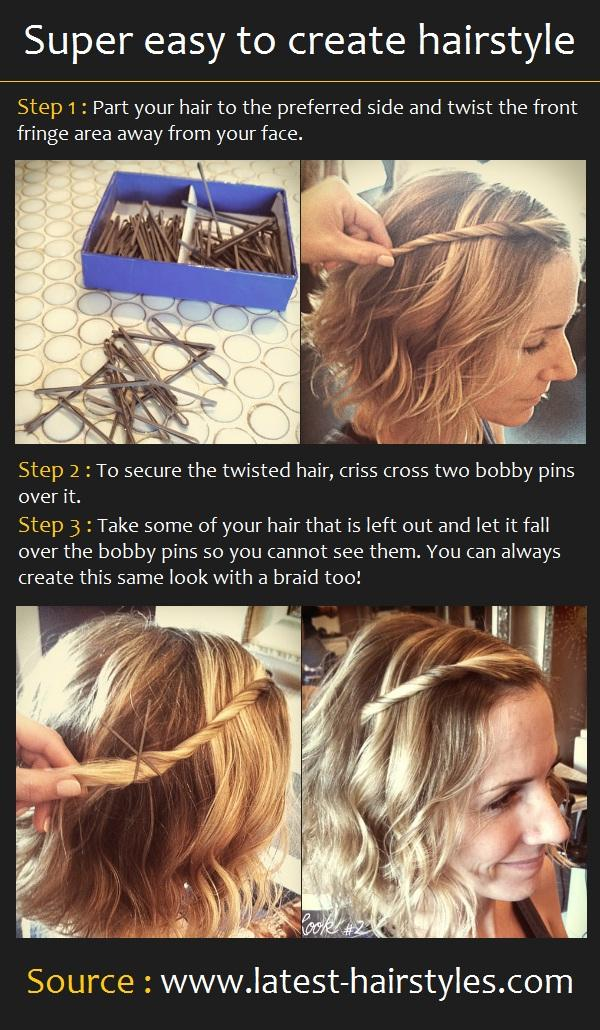 Super Easy To Create Hairstyle Long Hairstyles How To