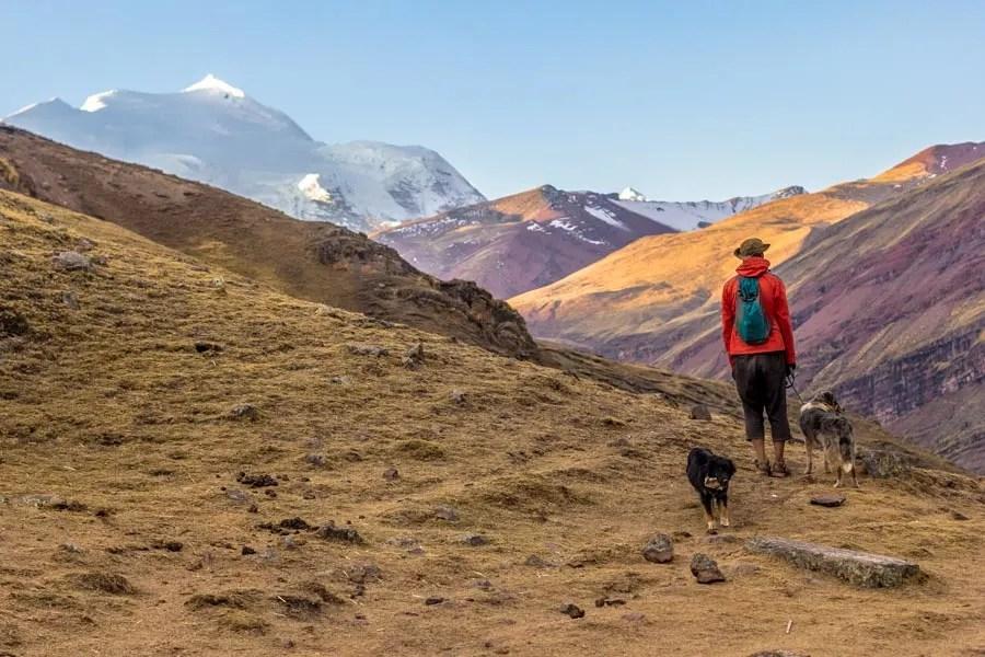 Bike 'n Hike: Rainbow Mountain, Peru | Long Haul Trekkers