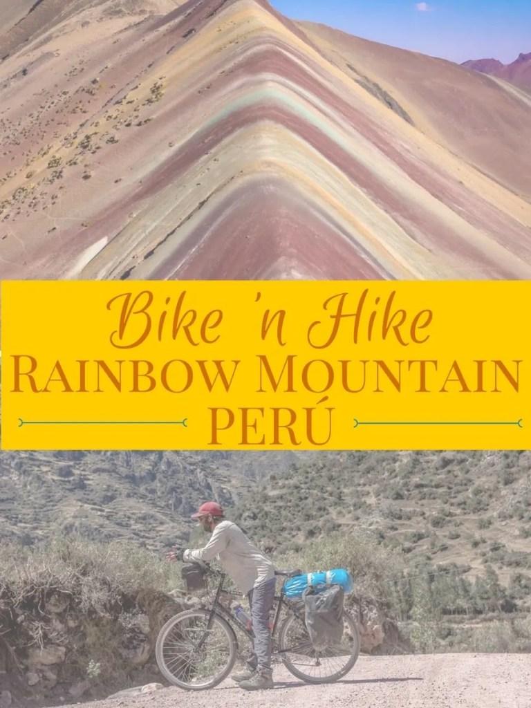 Bike 'n Hike: Rainbow Mountain, Peru. Dog-Friendly Hike| Hiking with Dogs | Long Haul Trekkers