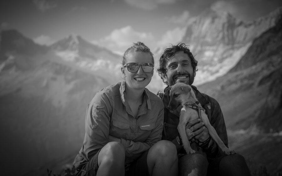 Street Tails: Laura, Reza & Pacha   Long Haul Trekkers