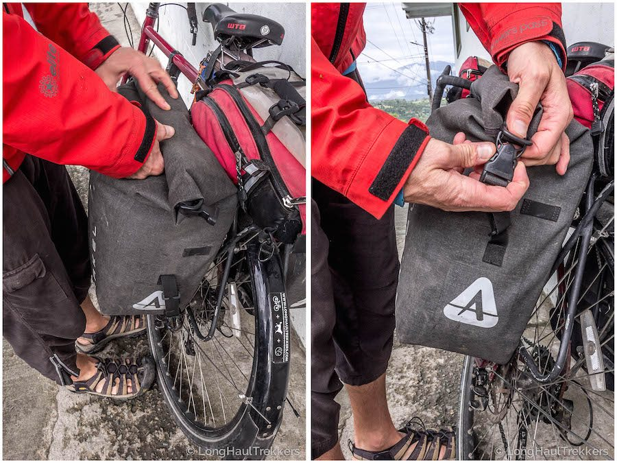 Gear Review: Arkel Orca Panniers | Long Haul Trekkers