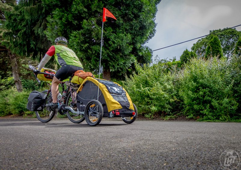 Six car-free miles along the Trolley Trail | Long Haul Trekkers