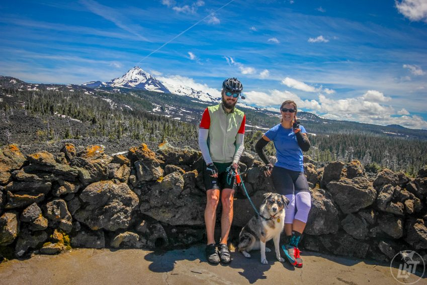 Dee Wright Observatory on the McKenzie Pass Scenic Bikeway