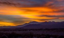 Sunset over the Salar de Coipasa
