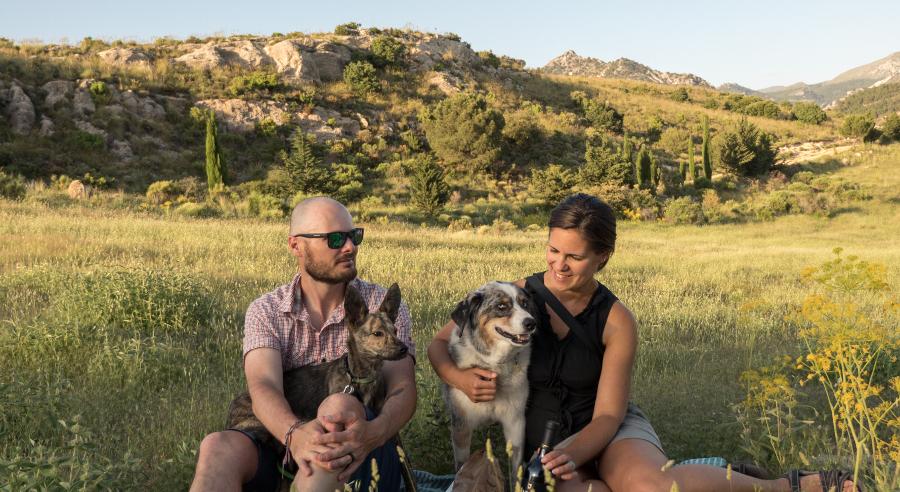 Long Haul Trekkers family picture
