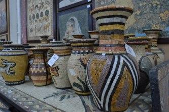 joran mosaic vases