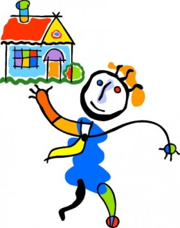 home happy child 394x500 Life Estates and Remainder Interests Are Exempt in Bankruptcy Cases